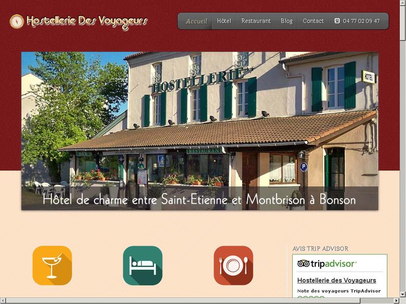 hostellerie des Voyageurs à Bonson