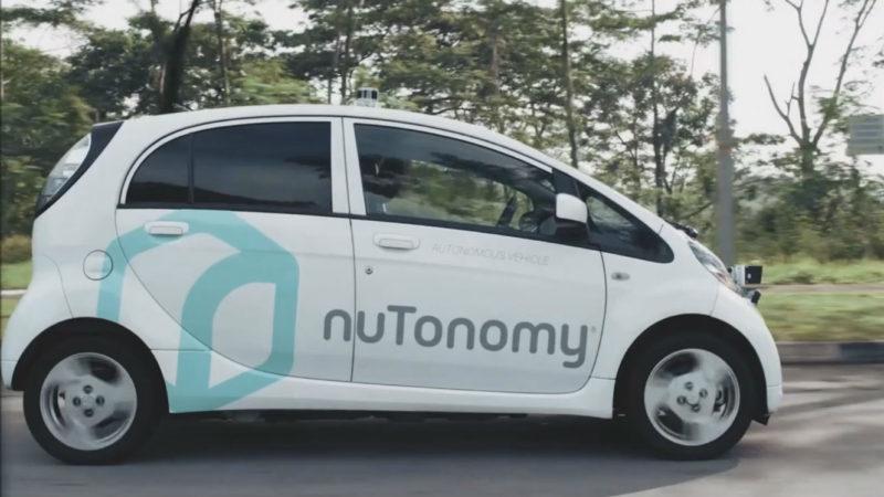 Singapour teste des taxis sans chauffeur