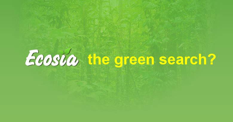 moteur de recherche vert
