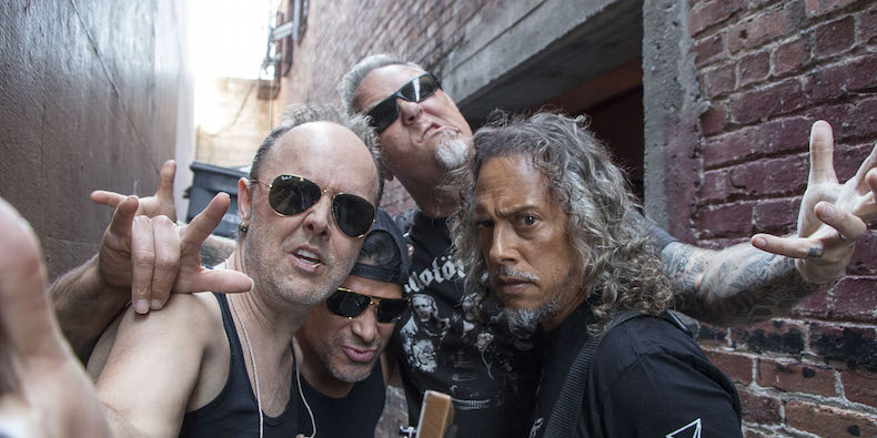 "Metallica revient avec l'album ""Hardwired... To self-destruct"""