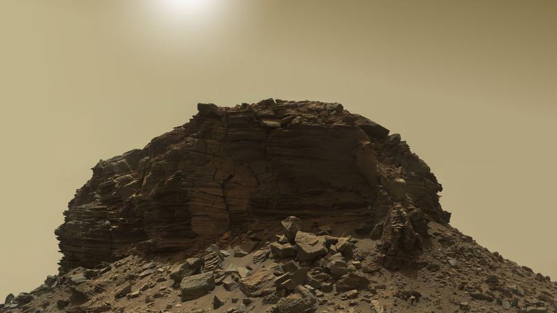 Curiosity envoie de nouvelles images spectaculaires de Mars